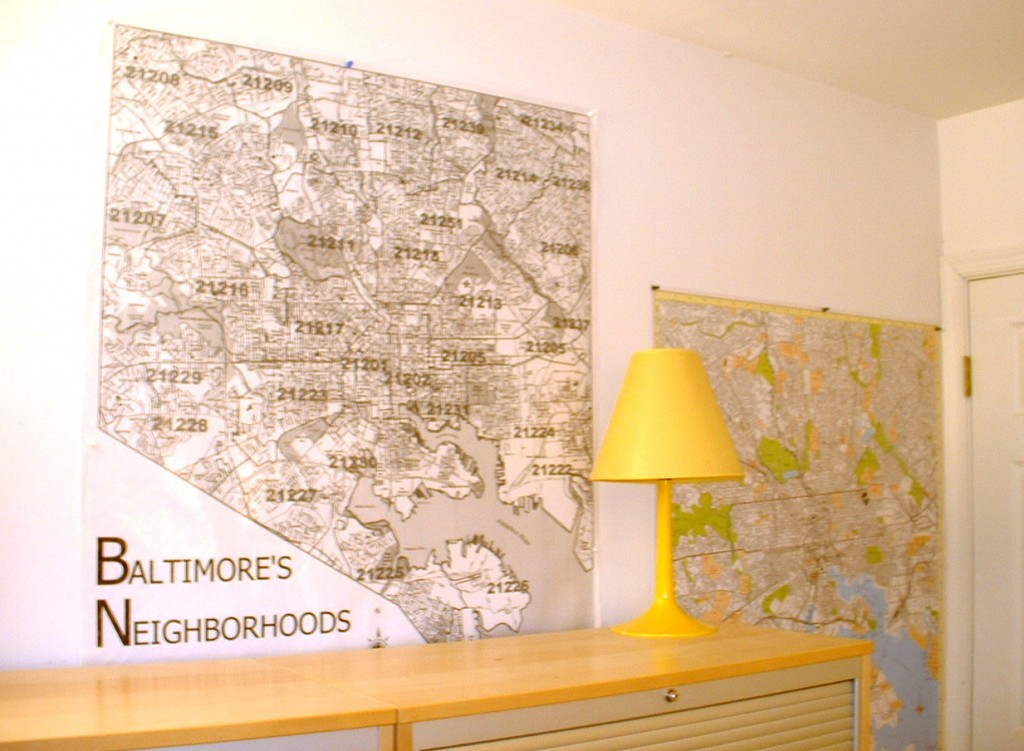 Baltimore Zip Code Map